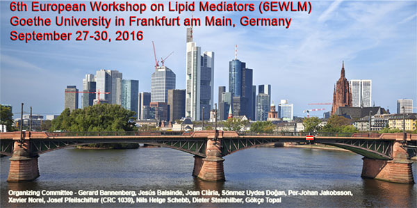 6th European Workshop on Lipid Mediators